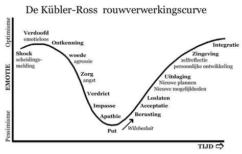 Afbeeldingsresultaat voor kubler ross curve nederlands
